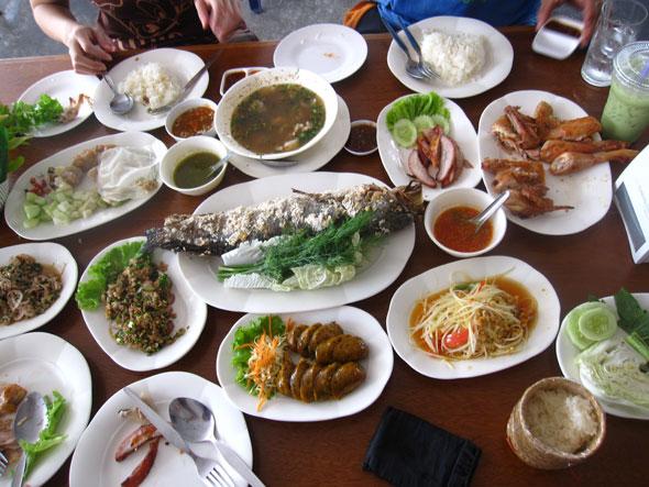 Isaan food in Bangkok