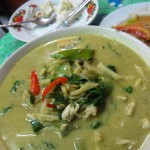 gaeng keow wan gai 150x150 Hor Mok Ma Prao On (Seafood Curry in Coconut)