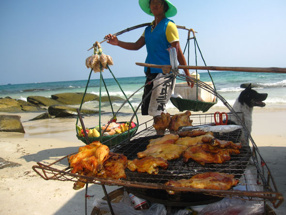 Grilled Chicken Koh Samet