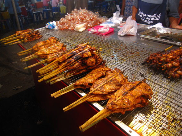 Grilled Chicken Thai Thai Street Food Restaurants And Recipes