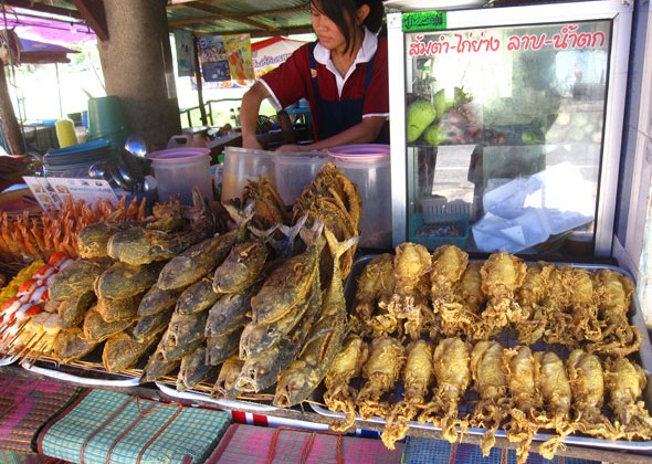 Krabi Fried Seafood