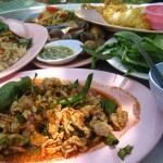 larb chicken 150x150 Thai Green Mango Salad (Yam Mamuang)