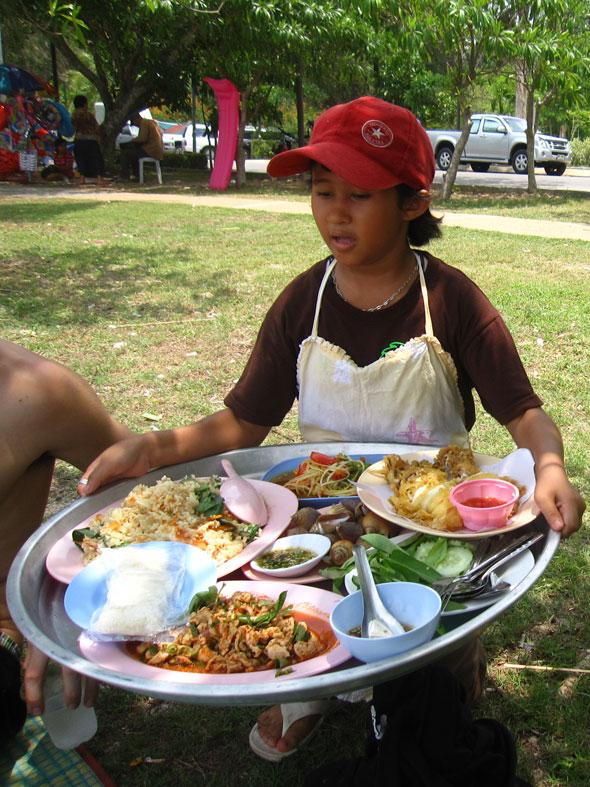 Giant Platter of Food