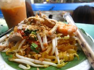 Pad Thai Noodles ผัดไทย