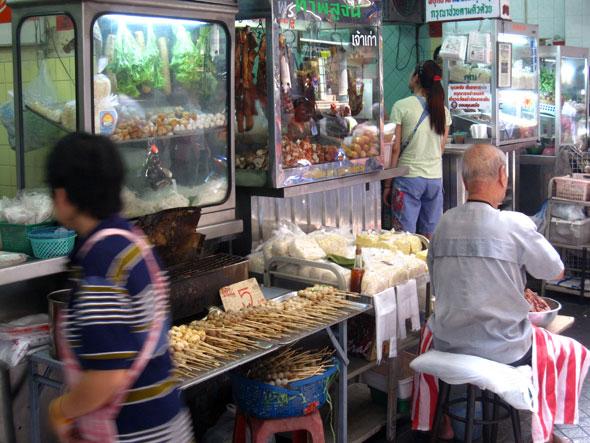 Silom Food Stalls