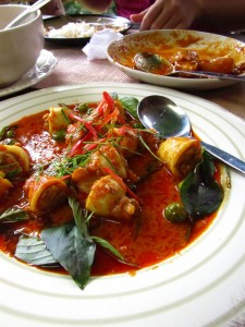 Stuffed Squid in Chiang Mai