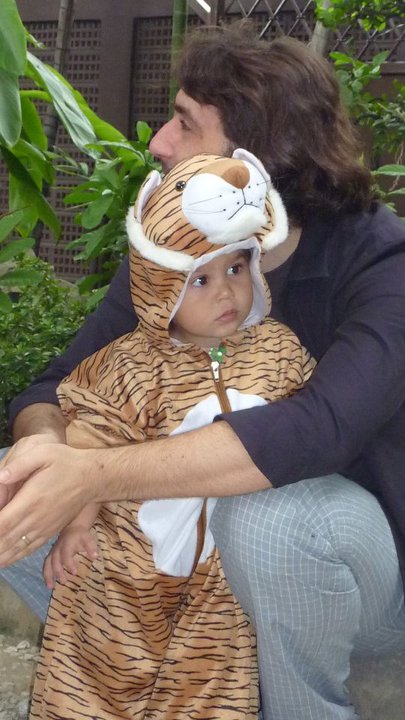 Tiger Costume for Halloween