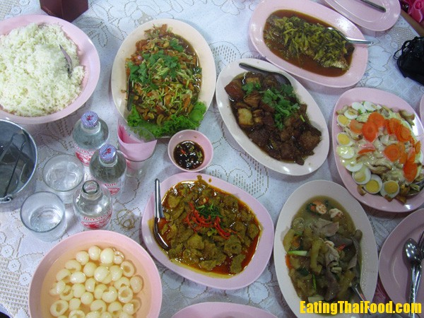Thai Wedding Food