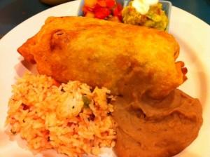 Chimichanga: Deep Fried Burrito