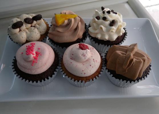 Cupcakes at Sparkles, (Sukhumvit soi 53)
