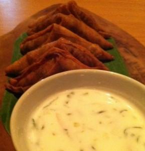 Thai Samosas @ Soul Food Mahanakorn