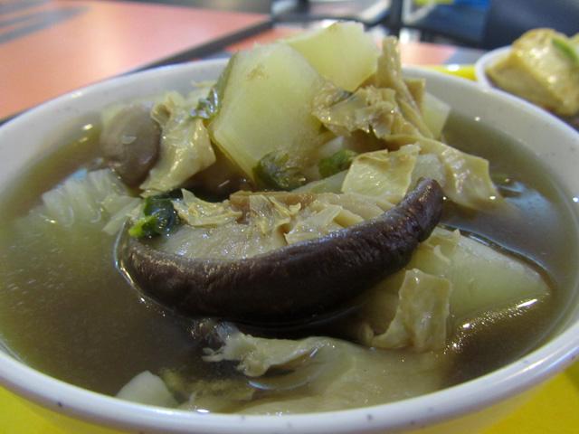 Day 17 Vegetarian Thai Food: Vietnamese Noodles, MBK Vegetarian Food