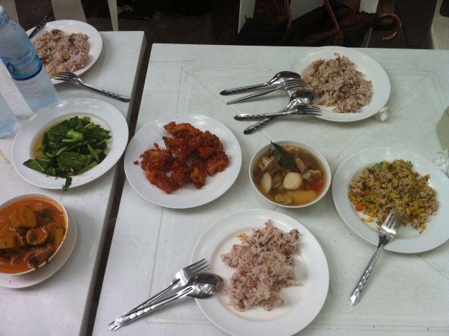 Another Cheap Vegetarian Thai Food Feast