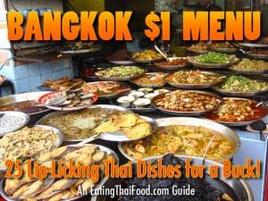 Bangkok $1 Menu