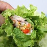 One Bite Wonder – Miang Pla Too (Mackerel, Herbs and Magic Sauce)