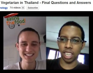 Closing thoughts on being vegetarian in Bangkok, Thailand