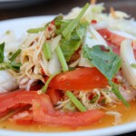 Food Photo: Thai Needle Mushroom Salad