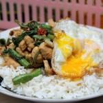 To the Rescue: Thai Pad Gra Pao Gai Kai Dao (Chicken with Holy Basil)