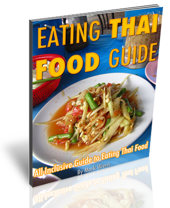cover reflection Eating Thai Food Guide