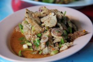 Thai Street Food Menu