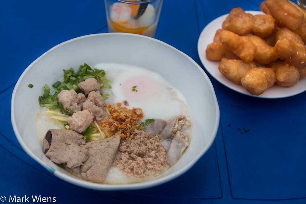 Thai breakfast dishes