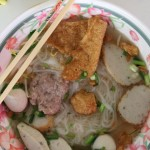 mcdang noodles 150x150 Food Photo: Thai Kuay Jab Noodle Soup (ก๋วยจั๊บน้ำข้น)
