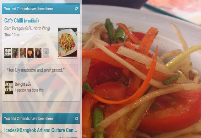 Don't settle for mediocre! Peer reviewed food on Foursquare for the win!