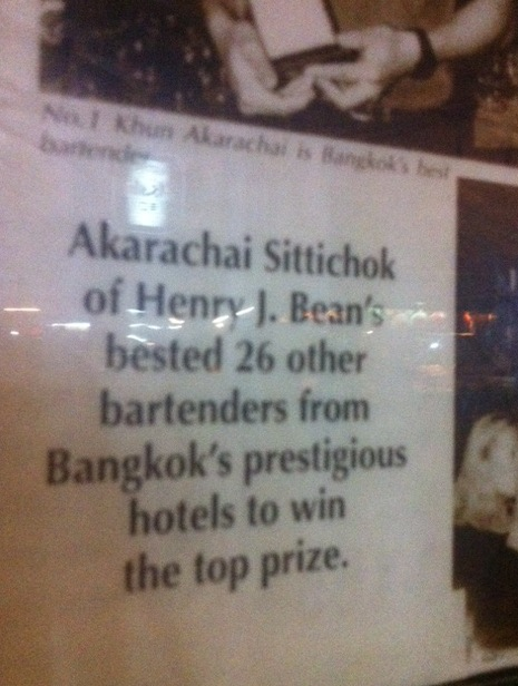 plaque Forget Cheap Charlies and visit Akrachai for Serious Street Side Pregaming in Bangkok