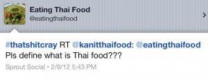 Think you know it all about Thai food? That's crazy...