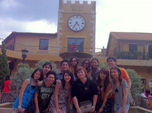 Thai Foodie Friends Posing at the Palio