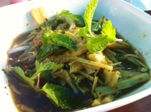 Spicy Bamboo Salad
