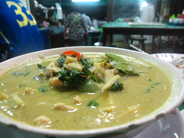 Is the Bangkok born curry less authentic Thai food?