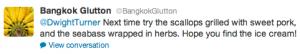A Twitter Tip from Bangkok Glutton