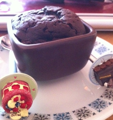 Chocolate muffin ftw!