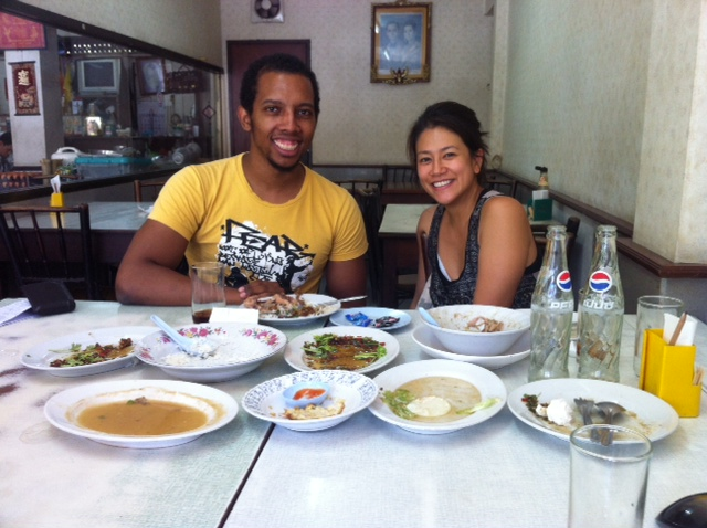 Dwight and Chow the blogger from Bangkok Glutton!