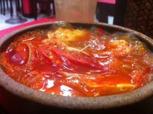 Soft Tofu Stew (Sundubu Jjigae 순두부찌게)