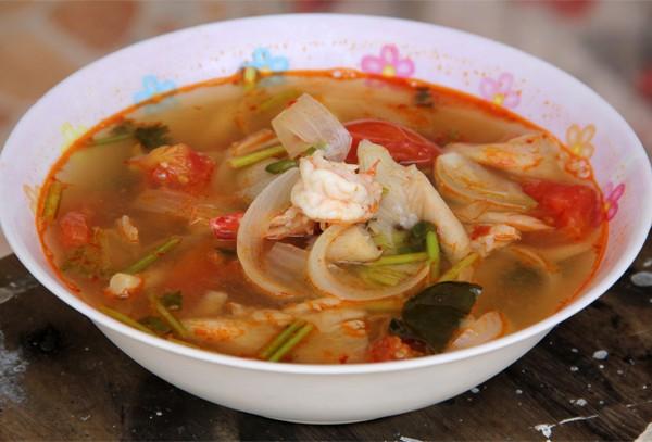 Thai Tom Yum Goong Soup Recipe