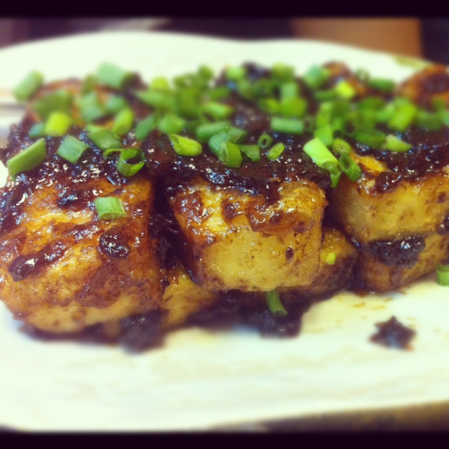Tofu in Tamarind Sauce from Thai Sabai