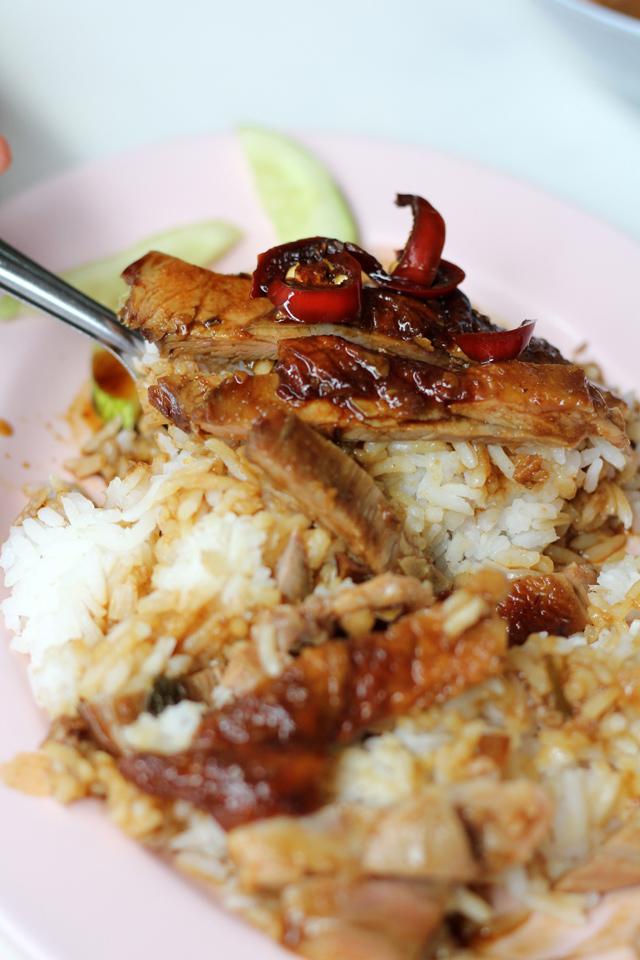 Roasted Duck in Bangkok