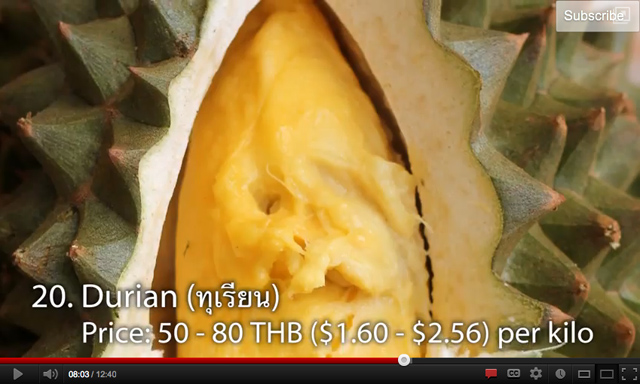 Durian, the biggest attraction of them all?