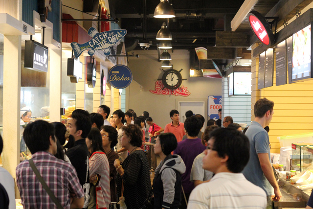 Terminal 21 Food Court, Bangkok, Thailand