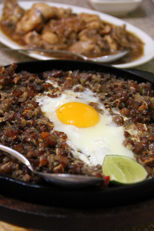 Sizzling Sisig - Pig's Face!