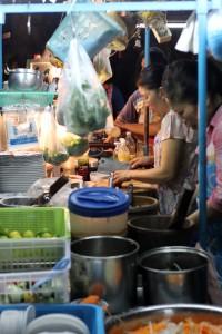 Isan Restaurant in Silom, Bangkok, Thailand