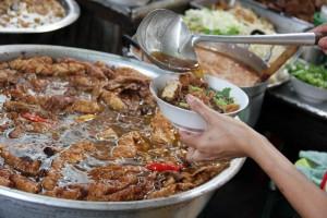 Thailand Vegetarian Festival 2012 - Bangkok, Thailand