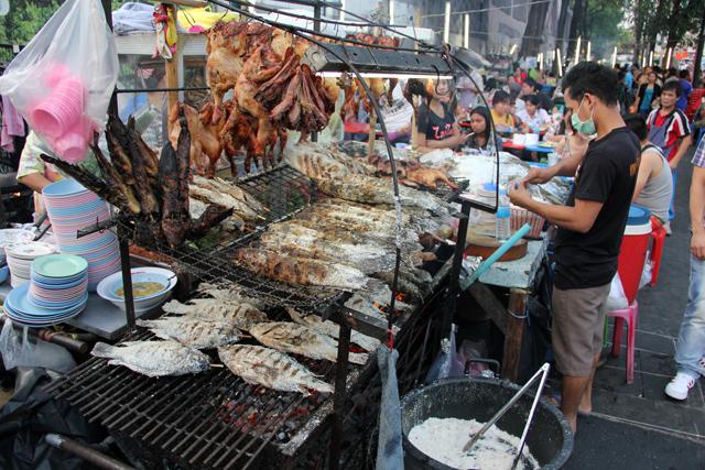 Bangkok street food at Central World