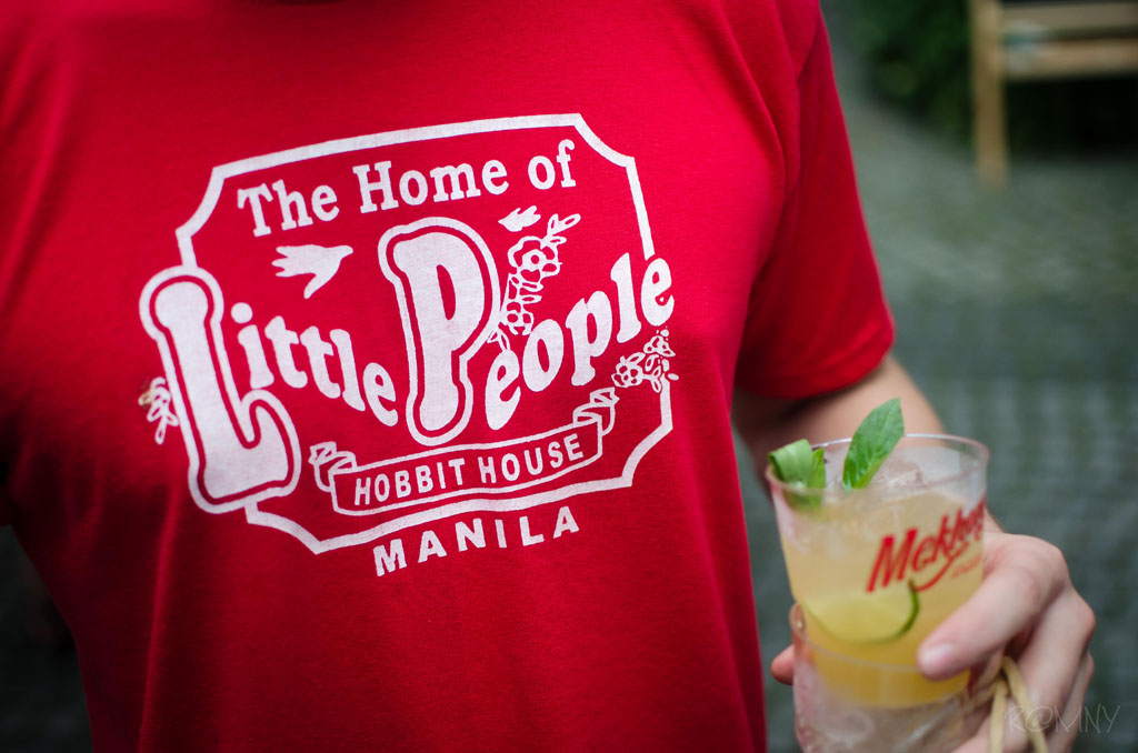 Reppin' Manila while enjoying a free welcome cocktail from Mekhong.