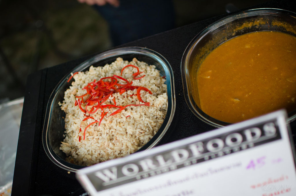 One of Worldfoods' do it yourself Thai curries.