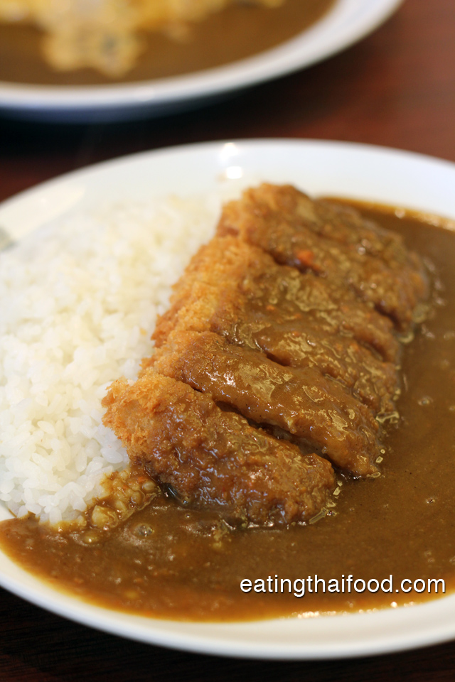 Japanese curry katsu at CoCo curry house