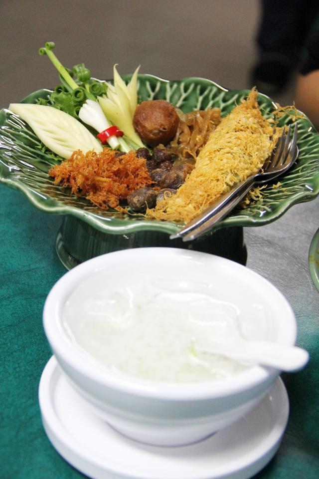Royal Thai Food - Khao Chae (ข้าวแช่)