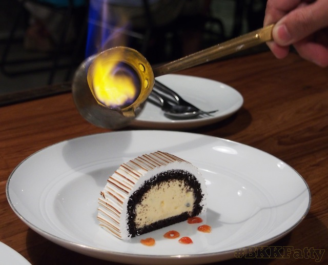 Thumbnail image for Flaming Baked Alaska Dessert Photo Sequence